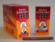 Cigariller och smaksatt King Edward