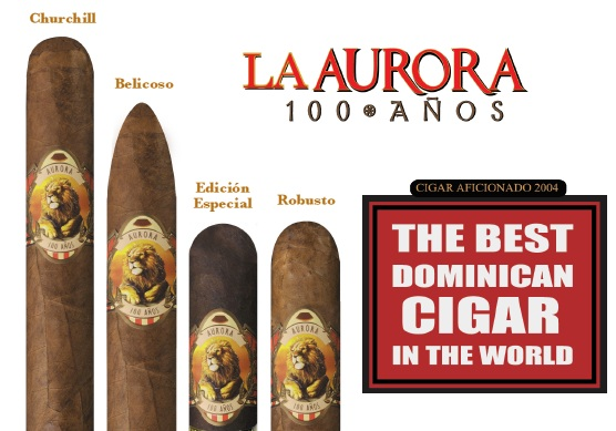 100 anos - Best Dominican Cigar 2004